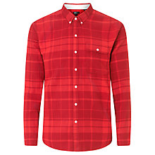 Buy Levi's California Check Shirt, Molten Lava Online at johnlewis.com
