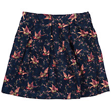 Buy Barbour Girls' Milly Bird Print Skirt, Navy Online at johnlewis.com
