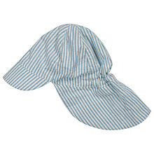 Buy Frugi Striped Legionnaires Hat, Blue Online at johnlewis.com