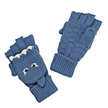 Buy John Lewis Shark Flip Gloves, Blue Online at johnlewis.com