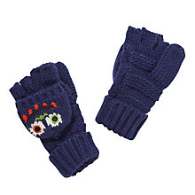 Buy John Lewis Monster Flip Gloves, Navy Online at johnlewis.com