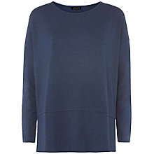Buy Jaeger Ponte Jersey Top, Indigo Online at johnlewis.com