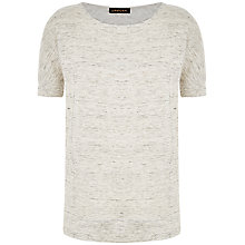 Buy Jaeger Linen T-Shirt Online at johnlewis.com
