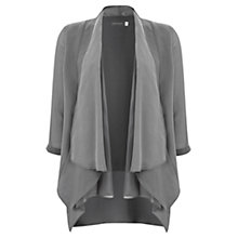 Buy Mint Velvet Waterfall Jacket, Khaki Online at johnlewis.com