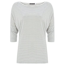 Buy Mint Velvet Stripe Top, Multi Online at johnlewis.com