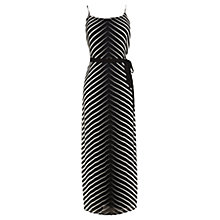 Buy Coast Louise Chevron Maxi Dress, Mono Online at johnlewis.com