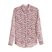 Buy Mango Chest Pocket Shirt, Multi Online at johnlewis.com