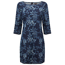 Buy Phase Eight Aura Denim Swing Dress, Indigo Online at johnlewis.com