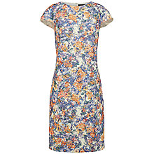 Buy Jaeger Floral Shift Dress, Multi Online at johnlewis.com