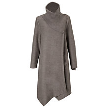 Buy Phase Eight Bellona Waterfall Coat, Mushroom Online at johnlewis.com