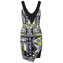 Buy Miss Selfridge Printed Bodycon Dress,  Assorted Online at johnlewis.com