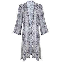 Buy Miss Selfridge Snake Duster Jacket, Multi Online at johnlewis.com