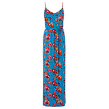 Buy Oasis Florantina Print Maxi Dress, Blue Online at johnlewis.com