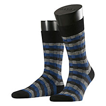 Buy Falke Dimensions Wool Blend Pattern Socks Online at johnlewis.com