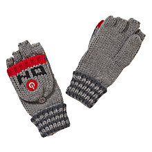 Buy John Lewis Robot Flip Gloves, Grey Online at johnlewis.com