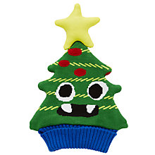 Buy John Lewis Christmas Tree Hat, Green Online at johnlewis.com