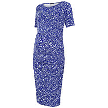Buy Isabella Oliver Falkirk Print Maternity Dress, Blue/White Online at johnlewis.com