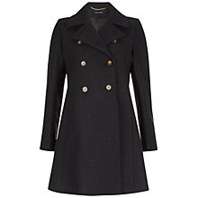 Buy Isabella Oliver Alma Maternity Coat, Charcoal Online at johnlewis.com