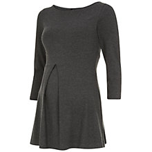 Buy Isabella Oliver Celeste Maternity Top, Dark Grey Online at johnlewis.com