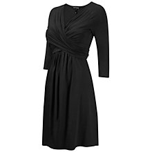 Buy Isabella Oliver Avebury Maternity Nursing Dress, Black Online at johnlewis.com