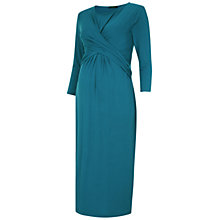 Buy Isabella Oliver Parkland Maternity Dress, Teal Online at johnlewis.com