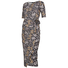 Buy Isabella Oliver Dalman Print Maternity Dress, Grey Multi Online at johnlewis.com