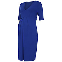 Buy Isabella Oliver Roslyn Maternity Dress, Persian Blue Online at johnlewis.com