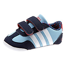 Buy Adidas Dino Crib Sports Shoes, Blue/Multi Online at johnlewis.com