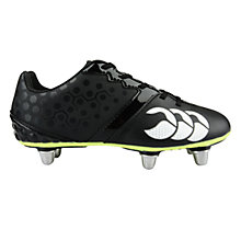 Buy Canterbury of New Zealand Phoenix Club 6 Stud Football Boots, Black Online at johnlewis.com