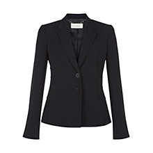 Buy Hobbs Wishaw Jacket, Navy Online at johnlewis.com