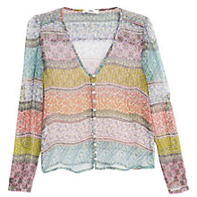 Buy Mango Boho Silk Shirt Online at johnlewis.com