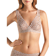 Buy Hanro Moments Lace Soft Bra Online at johnlewis.com