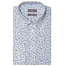 Buy John Lewis Abstract Floral Print Tailored Shirt Online at johnlewis.com