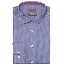 Buy John Lewis Mini Check Tailored Shirt Online at johnlewis.com