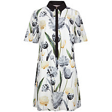Buy Ted Baker Palomia Paper Petals Shirt Dress, Multi Online at johnlewis.com