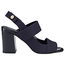 Buy Whistles Moko High Block Heeled Sandals Online at johnlewis.com