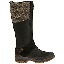 Buy Merrell Eventyr Front Zip Long Boots, Black Suede Online at johnlewis.com