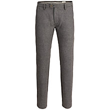 Buy Selected Homme Alberto Slim Trousers, Black Online at johnlewis.com