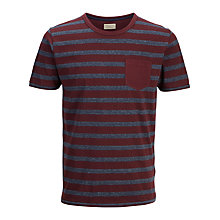 Buy Selected Homme Anton T-shirt, Winetasting Online at johnlewis.com