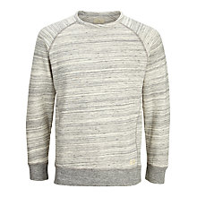 Buy Selected Homme Dash Crew Neck Jersey Top, Grey Online at johnlewis.com