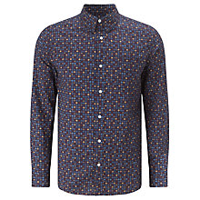 Buy Selected Homme Noah Spot Shirt, Navy Online at johnlewis.com