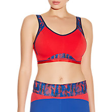 Buy Freya Sports Crop Top Bra, Racing Red Online at johnlewis.com