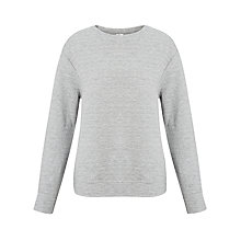 Buy Kin by John Lewis Textured Jersey Sweatshirt, Grey Online at johnlewis.com
