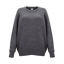 Buy Kin by John Lewis Long Sleeve Jumper, Grey Online at johnlewis.com