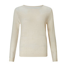 Buy Somerset by Alice Temperley Ottoman Rib Jumper Online at johnlewis.com