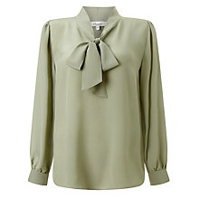 Buy Somerset by Alice Temperley Tie Neck Blouse Top Online at johnlewis.com