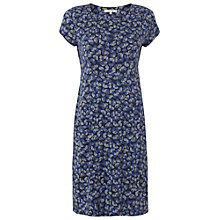 Buy White Stuff Time For Tea Dress, Night Blue Online at johnlewis.com