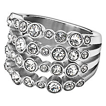 Buy Dyrberg/Kern Unica Ring, Silver Online at johnlewis.com