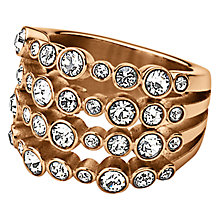Buy Dyrberg/Kern Unica Ring, Rose Gold Online at johnlewis.com