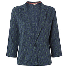 Buy White Stuff Freya Print Jacket, Blue Online at johnlewis.com